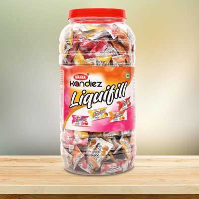 Liquifill candies